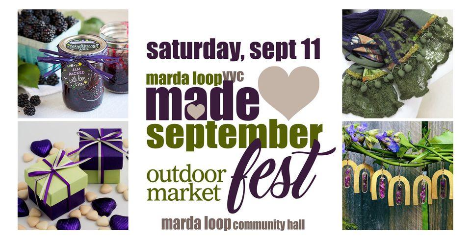 September Marda Loop YYC Made